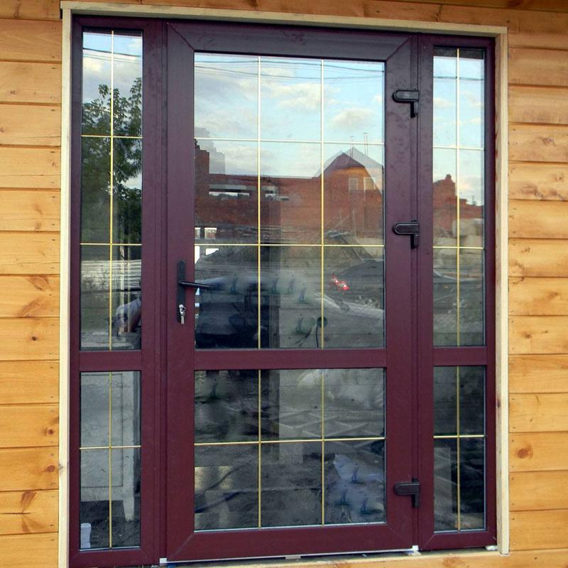 двери входные из пвх для дома